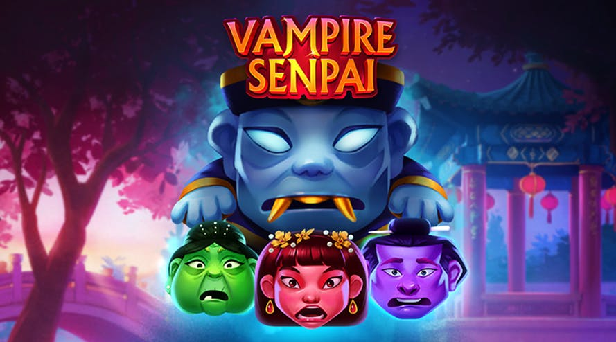Welcome to China with the Vampire Senpai slot game by Quickspin