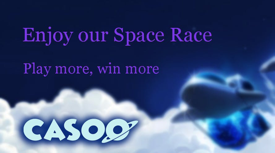 Casoo casino launches the Galactic tournament with galactic prizes