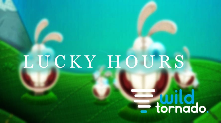 Every Friday and Saturday don't miss your 300 free spins by the Wild Tornado casino