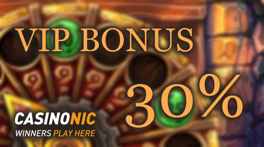 Get the Premium reward with the VIP Casinonic promotion