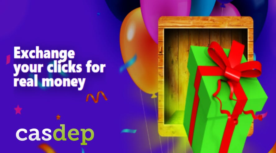 Get you daily prizes and bonuses with the Box of Luck by Casdep