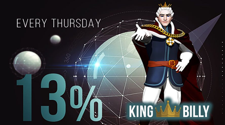 King Billy rewards its loyal family with Thursday cashback up to 13%