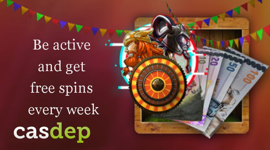 Take an action and get Thursday Free Spins with Casdep