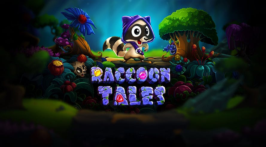 The Evoplay Enteratinment released the new slot game Raccoon Tales
