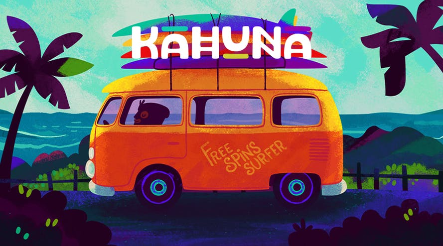The Kahuna Casino offers the whole tsunami of free spins every Wednesday