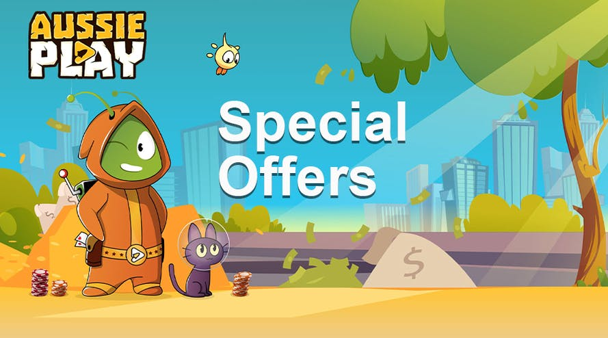 Aussie Play's Special Offers