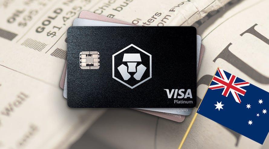 Crypto.com expanding its payment card to Australia