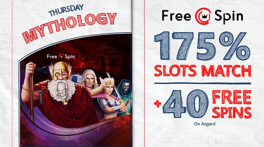 Thursday Special with Free Spin Online Casino