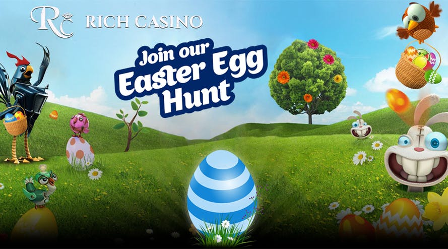 Rich Casino's Easter Egg Hunt Promotion