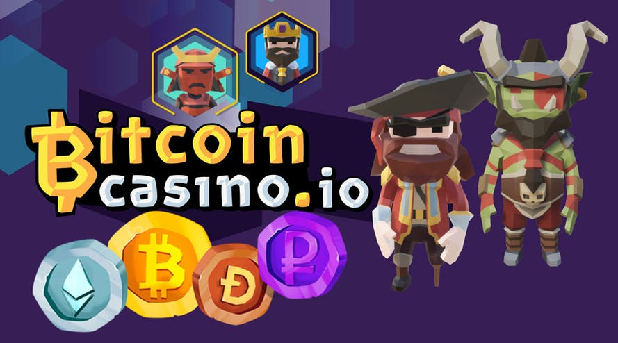 BitcoinCasino.io – A wide choice of Bitcoin casino games
